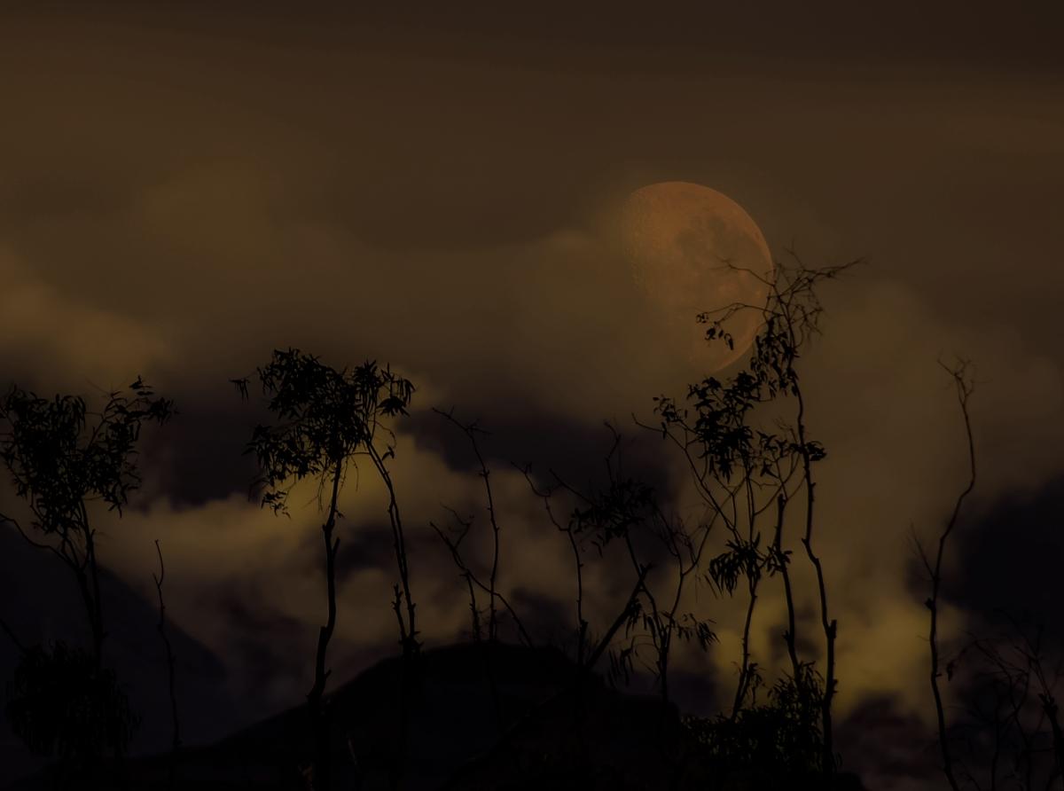 The smokin' moon
