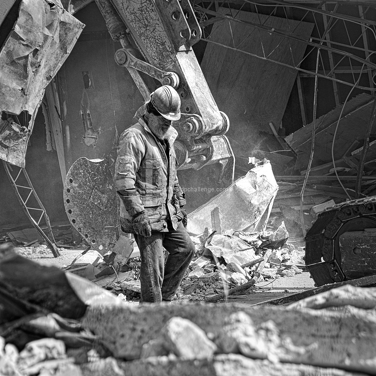 Finding God in the rubble