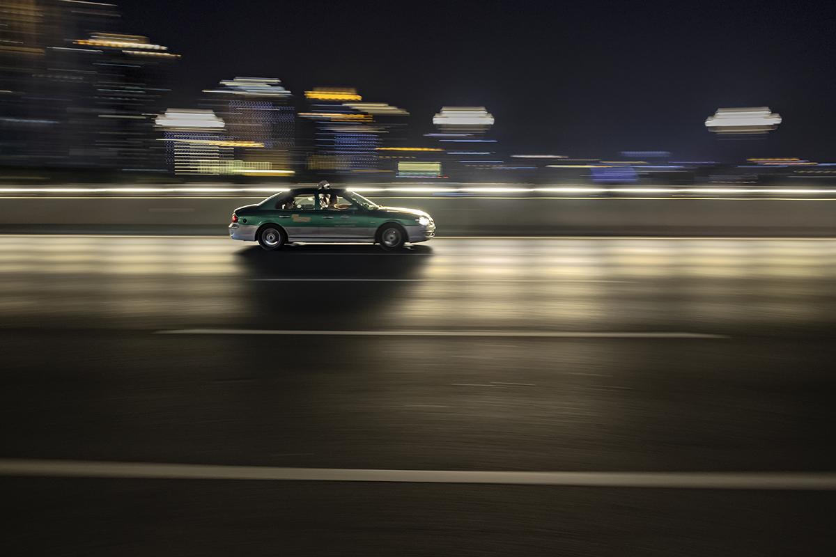 Speeding up in night