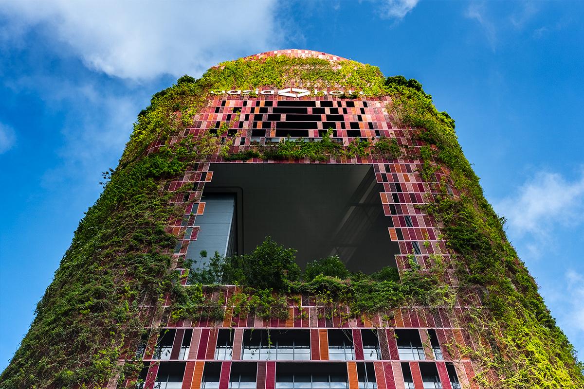 The Living Green Facade