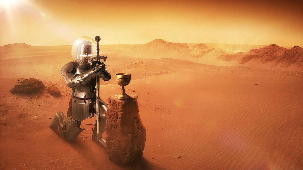 Holy Grail found on Mars