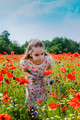 In the poppies field