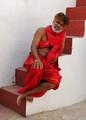 A monk in Jodhpur