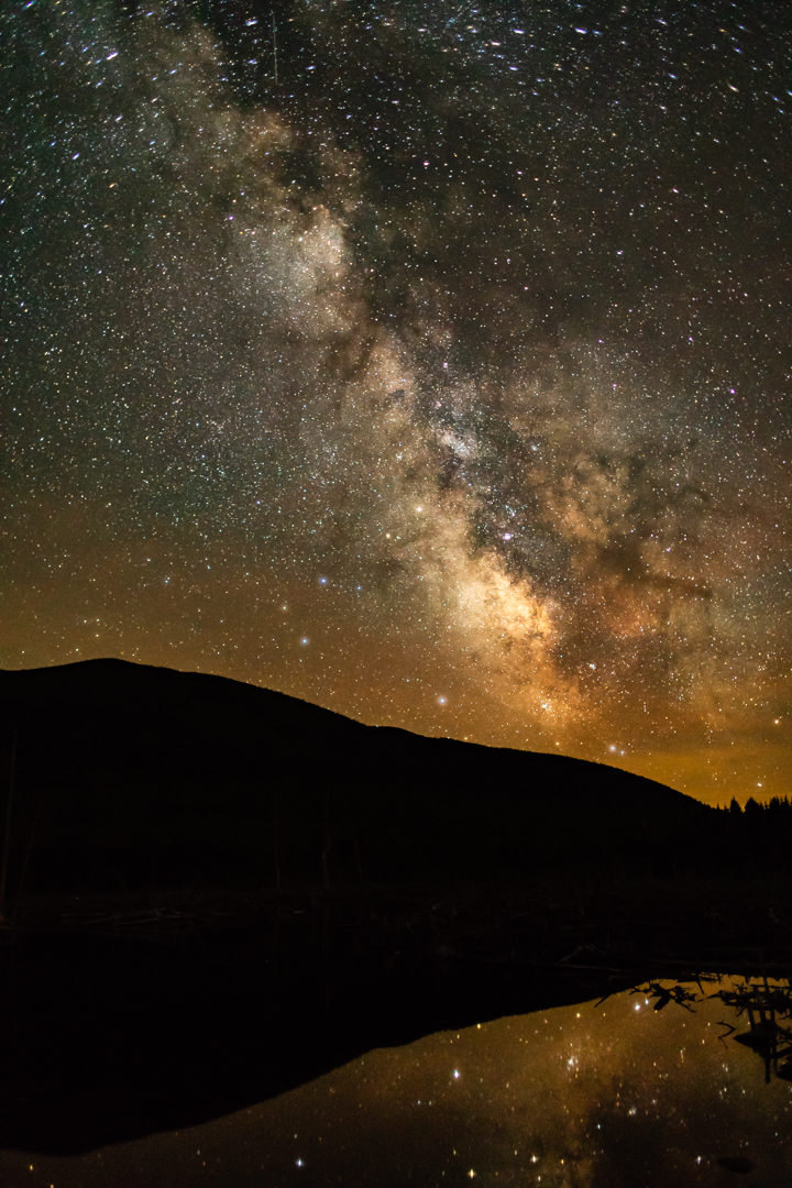 Reflexion of the Milky Way