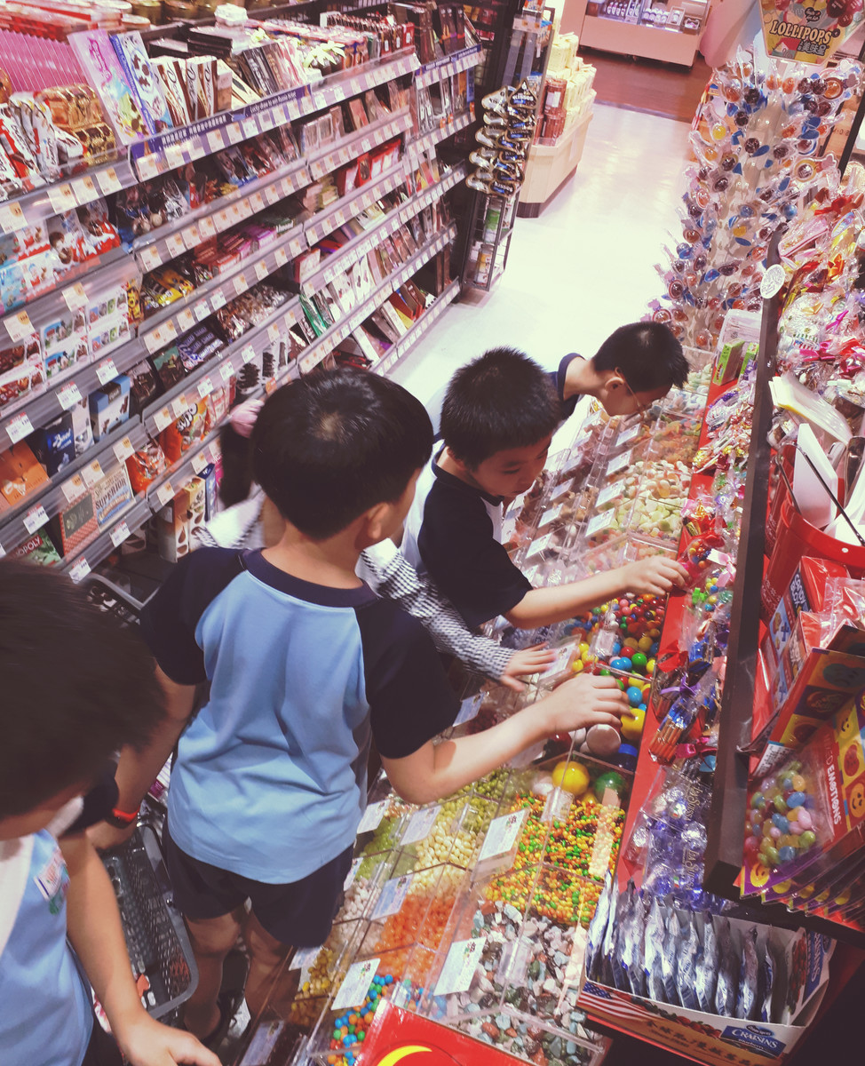 Kids and Candy....