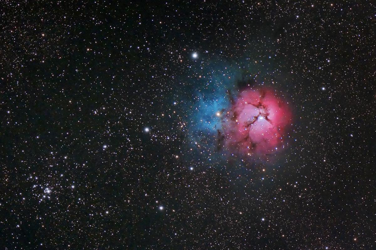 M20: The Trifid Nebula