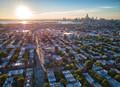 Sunset over Brooklyn