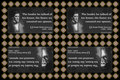 151 Ralph Waldo Emerson on Honor (wallet print)