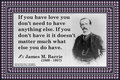 168 James M. Barrie on Love