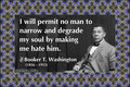 171 Booker T. Washington on Hate