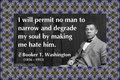 171 Booker T. Washington on Hate