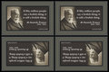 174 Anatole France on Foolishness (wallet print)