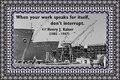 185 Henry J. Kaiser on Work