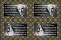 190 Bertrand Russell on Absurdity (wallet print)