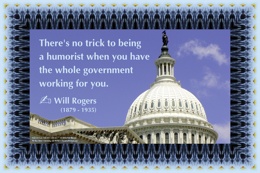 106 Will Rogers on Humor