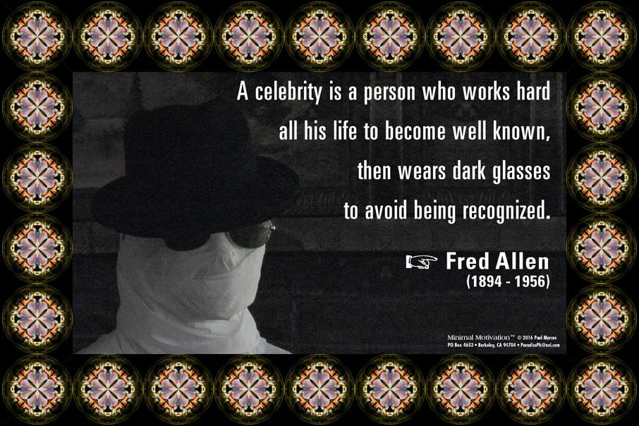 124 Fred Allen on Celebrity