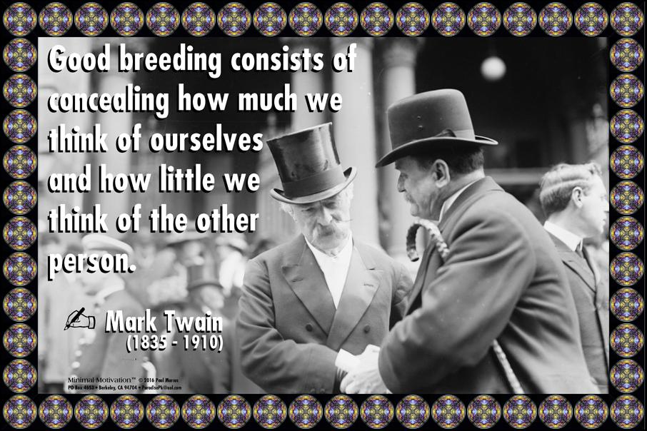 138 Mark Twain on Society