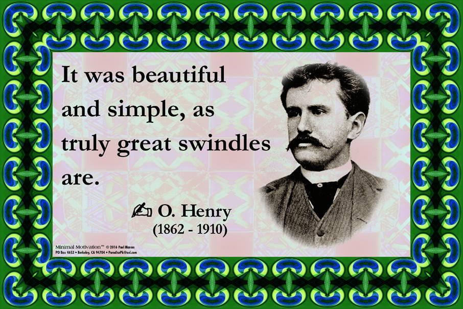 173 O. Henry on Deceit