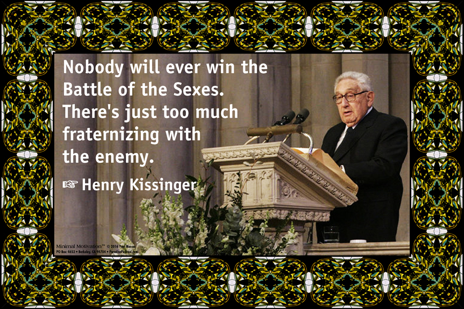 175 Henry Kissinger on Sexism