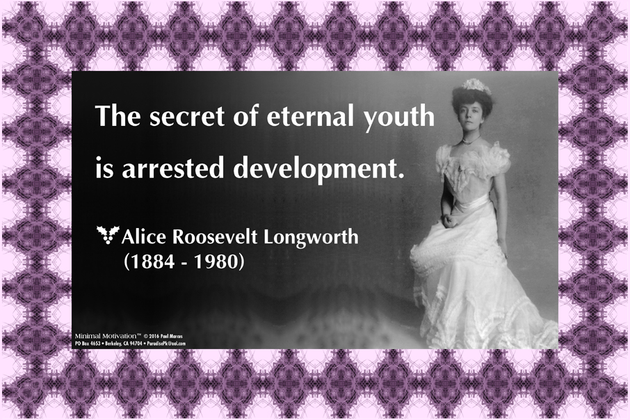 183 Alice Longworth on Youth