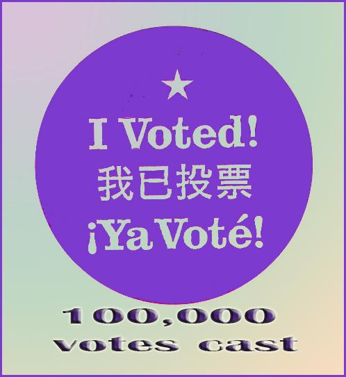 PURPLE VOTE AWARD