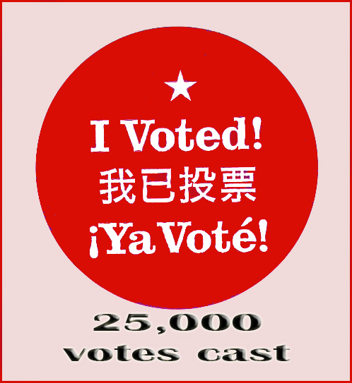 Red  VOTE AWARD
