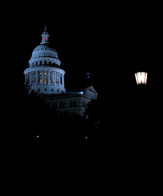 Capitol by Lamplight