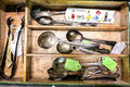 drawer of spoons 0903-