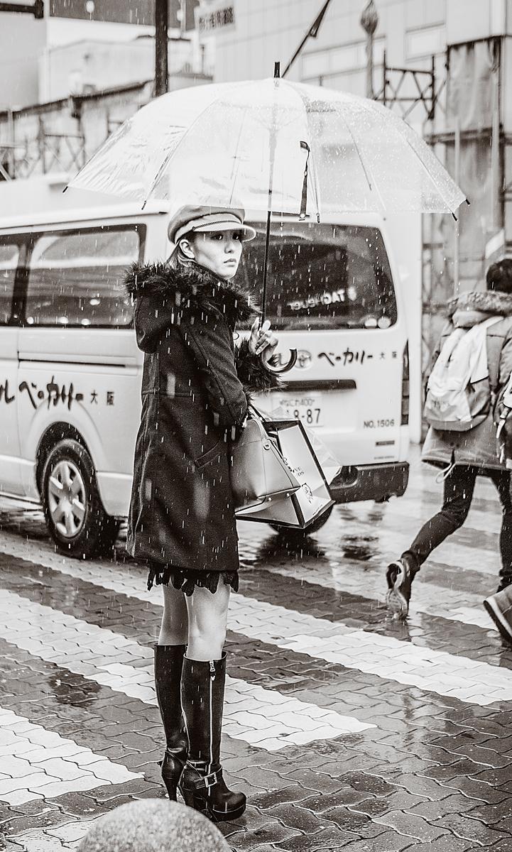 Japanese Woman, Osaka