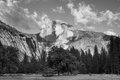 Yosemite Half Dome BW-2191