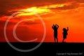 Celebrating Sunset, Jockeys Ridge (original portfolio image)