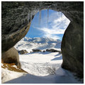 Icicle Cave framing Mountain View