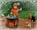 Day Five: Little Magic Monk