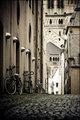 Bikes in alley