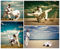 Aikido - Beach Dojo (A Polyptych)