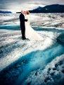 Wedding on Knik Glacier - I