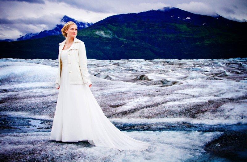 Wedding on Knik Glacier - III
