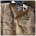Signed Khaki Shirts in Memory of Steve