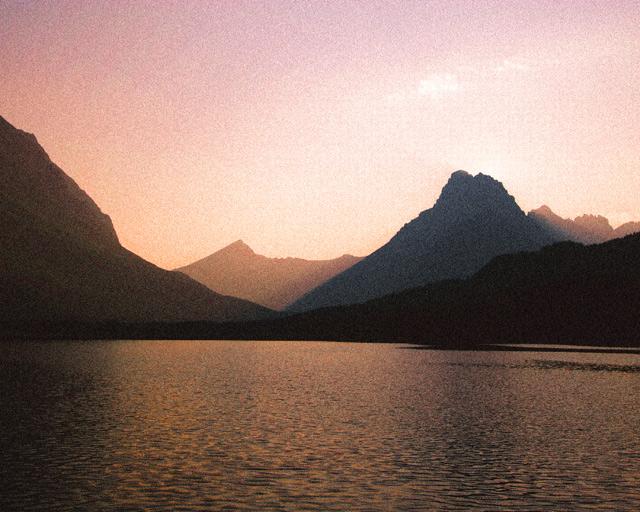 """Many Glaciers"", Montana"