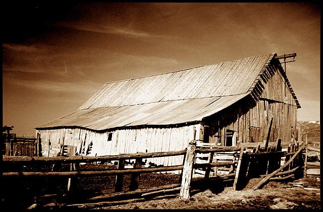 Barn; near Manti, Utah