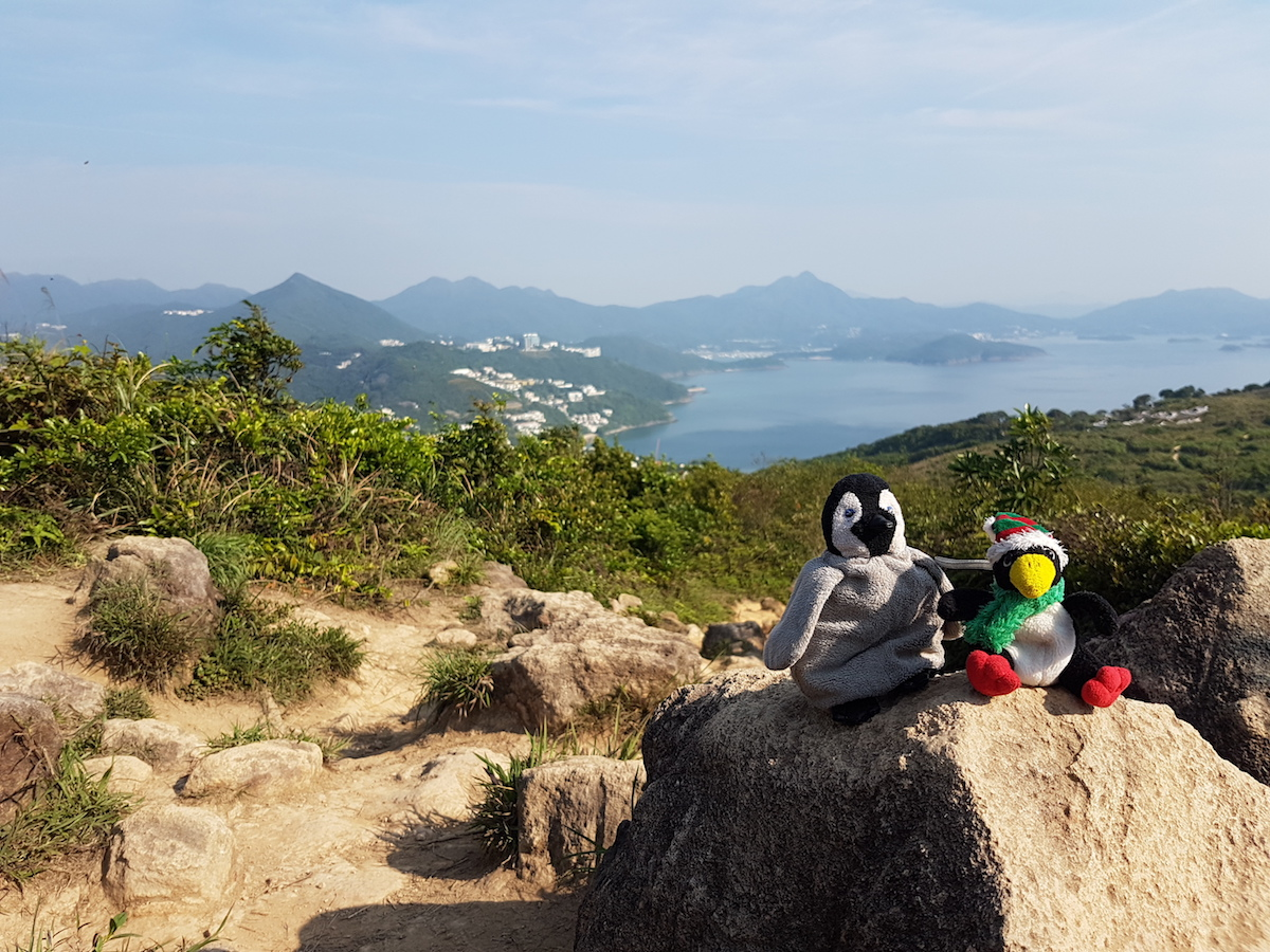 Hiking View to Sai Kung area