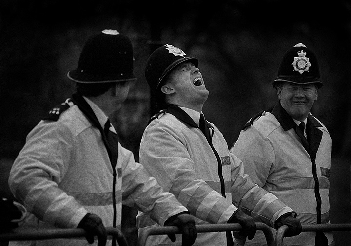 Image result for laughing policeman gif