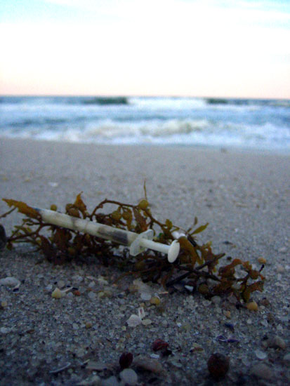 Hypodermics on the Shore by jeannybeany - DPChallenge