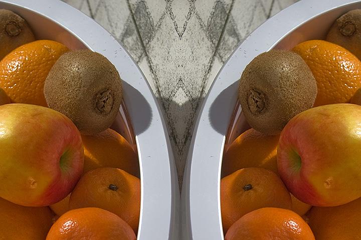 Feb 11 - Mirror fruit