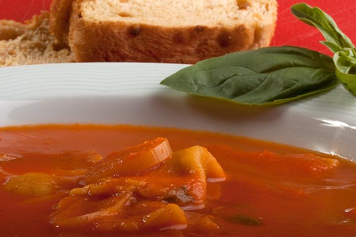 April 09 - Tomato soup