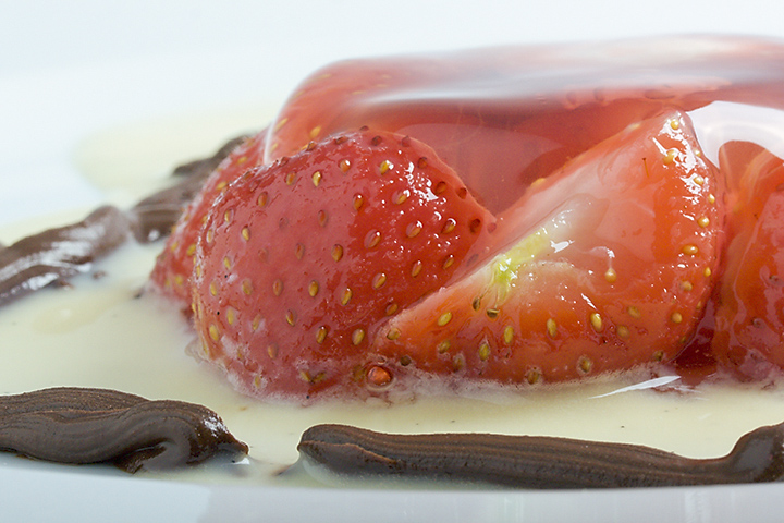 Food 26 - Black pepper jelly with strawberries