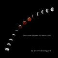 Total Lunar Eclipse 03 MARCH 2007