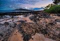 Lava Rock Sunrise