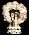26: Cake Topper at our Wedding