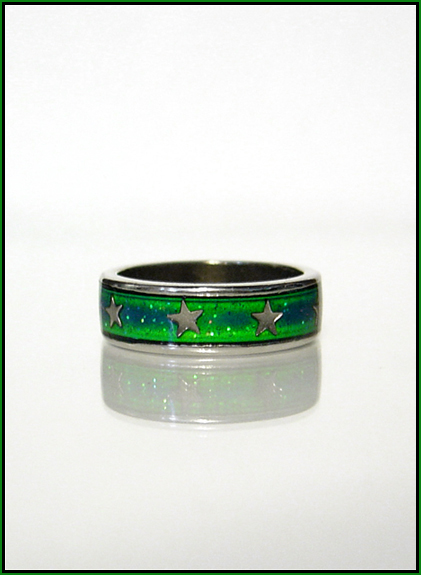 Green = Stress ;o) [Mood Rings; back & better]